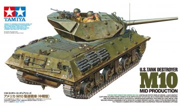 US Panzerjäger M10 (3) Mittl. Prod. · TA 35350 ·  Tamiya · 1:35