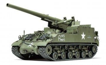 US M40 155mm Haubitze (8) · TA 35351 ·  Tamiya · 1:35