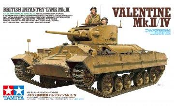 Brit. Valentine Mk. II/IV · TA 35352 ·  Tamiya · 1:35