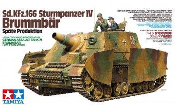 Sd.KFz. 166 Brummbär Späte Produktion · TA 35353 ·  Tamiya · 1:35