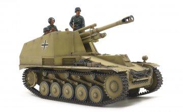 Sd.Kfz.124 Wespe ´Italian Front´ (le FH18/2 auf GWII) · TA 35358 ·  Tamiya · 1:35