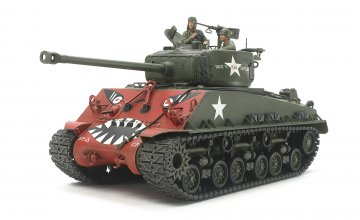 US M4A3E8 Sherman Easy Eight Korean · TA 35359 ·  Tamiya · 1:35