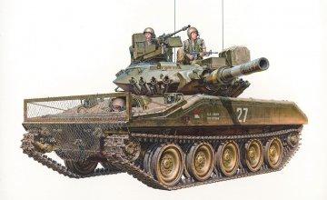 US M551 Sheridan Vietnam · TA 35365 ·  Tamiya · 1:35