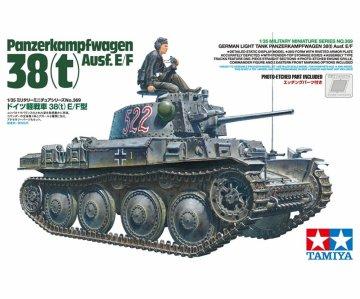 Dt. Pzkpfw. 38(t) Ausf. E/F (1) · TA 35369 ·  Tamiya · 1:35