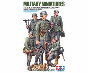 Deutsche Infanterie 1941/42 (Figuren-Set - 5 Figuren) · TA 35371 ·  Tamiya · 1:35