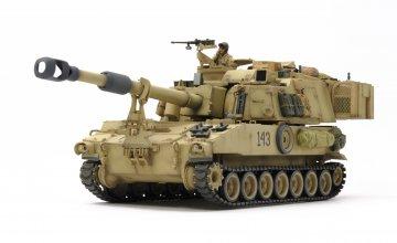 M109A6 Paladin Irak Haubitze · TA 37026 ·  Tamiya · 1:35