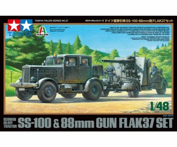 Zgm. SS-100 m. 88mm Flak37 Set · TA 37027 ·  Tamiya · 1:48