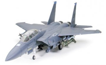 Boeing F-15E Strike Eagle with Bunker Buster · TA 60312 ·  Tamiya · 1:32