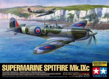 WWII RAF Supermar. Spitfire Mk.IXc · TA 60319 ·  Tamiya · 1:32