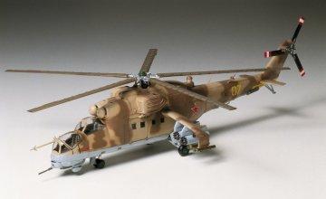 MIL Mi-24 Hind Helikopter · TA 60705 ·  Tamiya · 1:72
