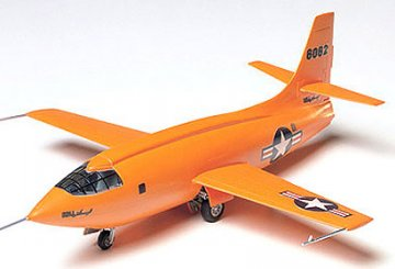USAF Bell X-1 Mach Buster · TA 60740 ·  Tamiya · 1:72
