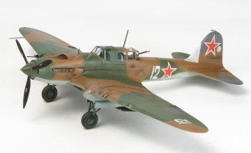 II-2 Stormovik · TA 60781 ·  Tamiya · 1:72