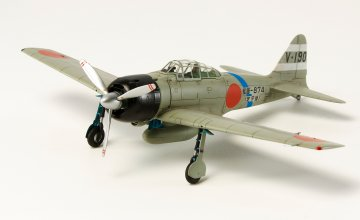 Mitsubishi A6M3 Zero Fighter Mo. 32 Hamp · TA 60784 ·  Tamiya · 1:72