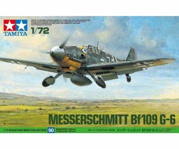 Messerschmitt Bf-109 G-6 · TA 60790 ·  Tamiya · 1:72