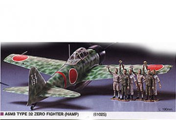 A6 M3 ZERO FIGHTER TYPE 32 · TA 61025 ·  Tamiya · 1:48