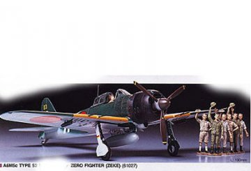 A6M5c Type 52 Zero Fighter · TA 61027 ·  Tamiya · 1:48