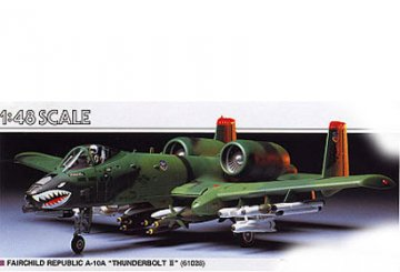 Fairchild Republic A-10A, Thunderbolt II · TA 61028 ·  Tamiya · 1:48