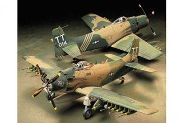 WWII Douglas A-1J Skyrider USAF · TA 61073 ·  Tamiya · 1:48