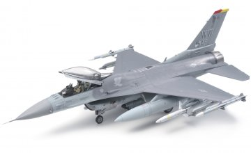 Lockheed Martin F16CJ Block 50 Fighting Falcon · TA 61098 ·  Tamiya · 1:48