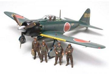 Mitsubishi A6M5/5a Zero Fighter · TA 61103 ·  Tamiya · 1:48