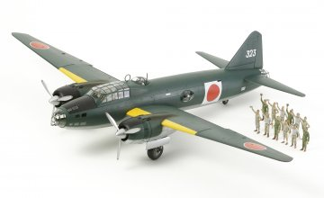 WWII Mitsubishi G4M1 Modell 11 (17) · TA 61110 ·  Tamiya · 1:48