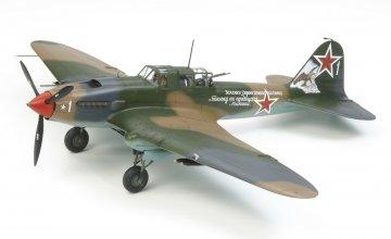 WWII Rus. Ilyushin LI-2 Shturmovik · TA 61113 ·  Tamiya · 1:48