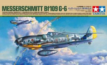 Messerschmitt Bf 109 G-6 · TA 61117 ·  Tamiya · 1:48