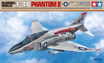 F-4B Phantom II McDonnell Douglas · TA 61121 ·  Tamiya · 1:48