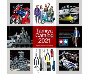 TAMIYA Katalog 2021 (GB/DE/F/E) · TA 64431 ·  Tamiya
