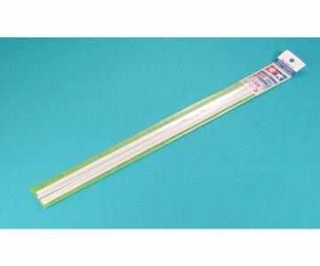 Dreikantprofil 3mm (8) 400mm weiß - Kunststoff · TA 70117 ·  Tamiya