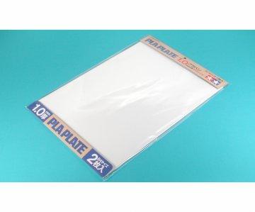 Kunststoff-Platte 1,0mm (2) weiß 257x364mm · TA 70124 ·  Tamiya