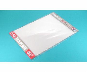 Kunststoff-Platte 0,4mm (4) klar 257x364mm · TA 70127 ·  Tamiya