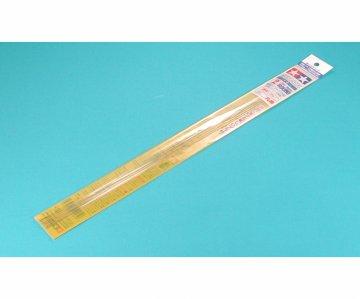 Rundstab 2mm (6) 400 mm klar/weiß - Kunststoff · TA 70158 ·  Tamiya