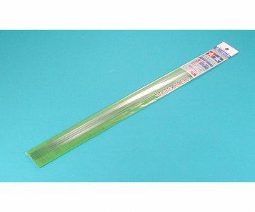 Rundstab 3mm (5) 400 mm klar/weiß - Kunststoff · TA 70159 ·  Tamiya