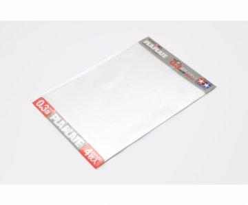 Kunststoff-Platte 0,3mm (4) klar 257x364mm · TA 70191 ·  Tamiya
