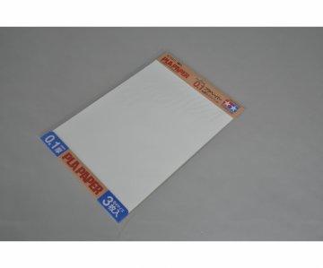 Kunststoff-Platte 0,1mm (3) weiß 257x364mm · TA 70208 ·  Tamiya