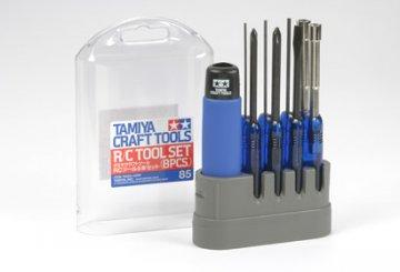 RC-Werkzeugset 8tlg. · TA 74085 ·  Tamiya