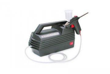 Tamiya Spray-Work Basic mit Komprssor · TA 74520 ·  Tamiya
