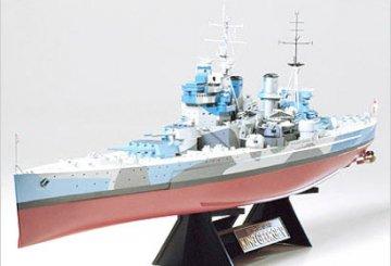 King George V, British Battleship · TA 78010 ·  Tamiya · 1:350