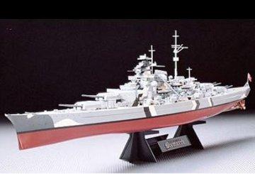 Bismarck, German Battleship · TA 78013 ·  Tamiya · 1:350