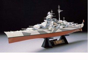 Tirpitz,  German Battleship · TA 78015 ·  Tamiya · 1:350
