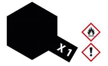 X-1 Schwarz · TA 81001 ·  Tamiya