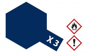 X-3 Königsblau · TA 81003 ·  Tamiya