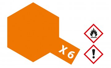 X-6 Orange · TA 81006 ·  Tamiya