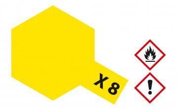 X-8 Zitronen-Gelb - glänzend [23 ml] · TA 81008 ·  Tamiya
