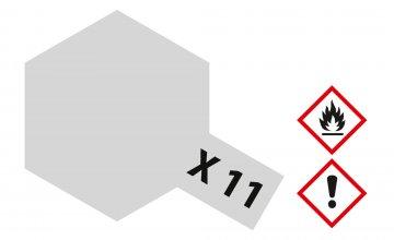 X-11 Chrom Silber · TA 81011 ·  Tamiya