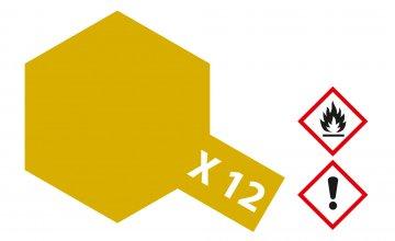 X-12 Gold Leaf · TA 81012 ·  Tamiya
