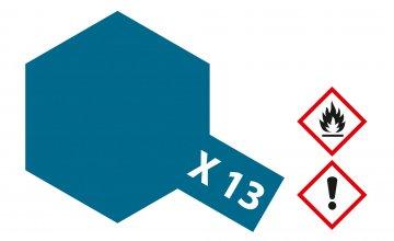 X-13 Metallic-Blau · TA 81013 ·  Tamiya