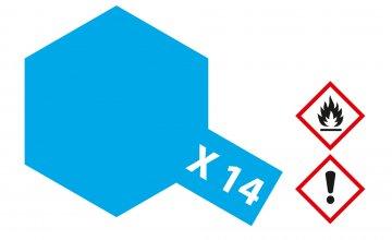 X-14 Himmel-Blau · TA 81014 ·  Tamiya