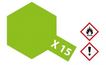 X-15 Hell-Grün - glänzend [23 ml] · TA 81015 ·  Tamiya